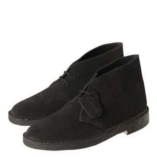 Desert Boots - Black Suede