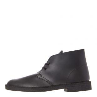 Clarks Originals Desert Boots 26144225 Polished Black