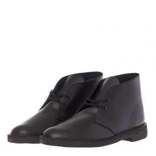 Desert Boots - Polished Black