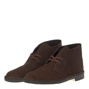 Desert Boots - Brown Suede