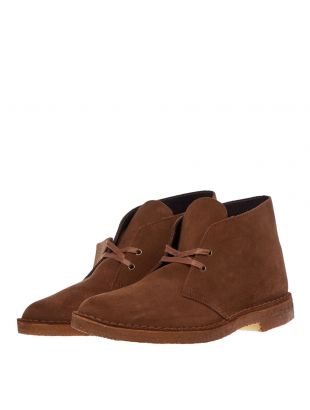 Desert Boots - Cola Suede