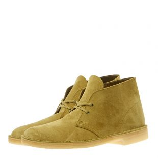 Desert Boots – Khaki Suede