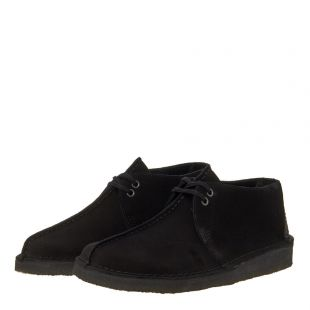 Desert Trek Shoes - Black