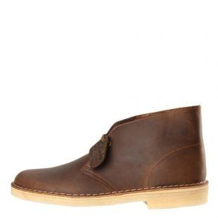 Clarks Desert Boots in Beeswax Brown