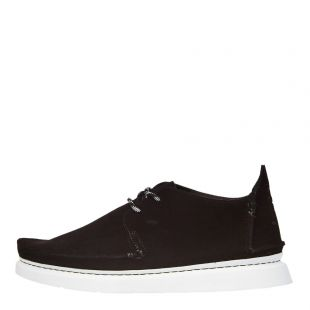 Clarks Originals Seven Shoes 26142687 Black Suede