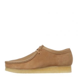 Wallabee Shoes - Light Tan