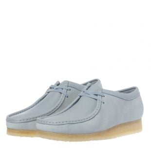 Wallabee Shoes - Light Blue