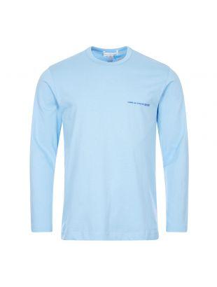 Comme des Garcons Long Sleeve T-Shirt | Blue