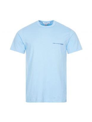 Commes Des Garcons T-Shirt, FG T020 SS21 2 Blue, Aphrodite 1994