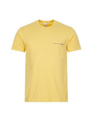 Comme des Garçons T-Shirt, FG T020 SS21 3 Yellow, Aphrodite 1994