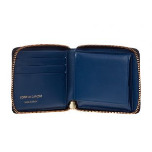 Brick Line Wallet - Blue