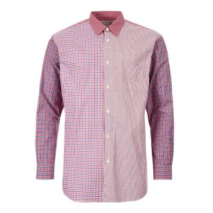 Comme des Garcons SHIRT Check Shirt | W27072 1 Red Check