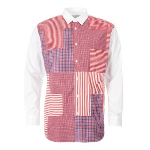 Comme des Garcons SHIRT Check Shirt | W27081 1 Red / White Check