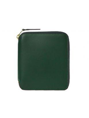 Comme Des Garçons Wallet Classic | SA2100 BGRN Bottle Green | Aphrodite