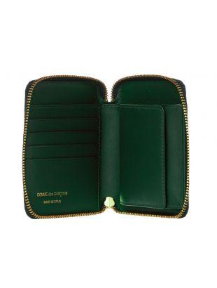 Classic Wallet - Bottle Green