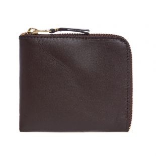 Comme Des Garcons Wallet Classic SA3100|801 In Marron At Aprodite Clothing
