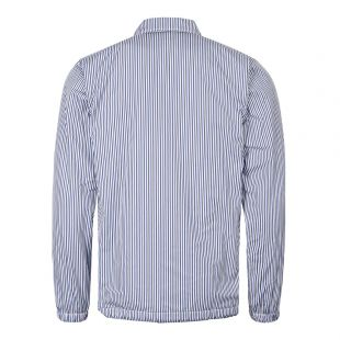 Jacket Striped - Blue / Navy / White