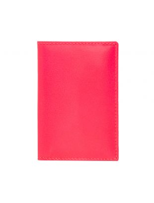 Comme des Garcons Super Fluo Wallet   Pink