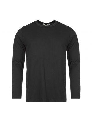 Comme des Garcons Long Sleeve T-Shirt | W28115 1 Black