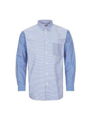 Comme Des Garcons Shirt Stripe | FZ B119 PER 1 Blue / White | Aphrodite