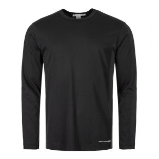 Comme des Garcons SHIRT Long Sleeve T-Shirt | W27110 1 Black
