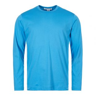 Comme des Garcons SHIRT Long Sleeve T-Shirt W27116 1 Blue