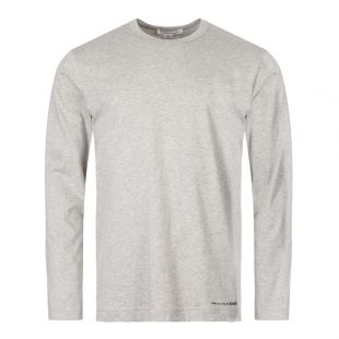 Comme des Garcons SHIRT Long Sleeve T-Shirt | W27110 2 Grey