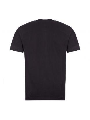 T-Shirt Gold Heart Logo - Black