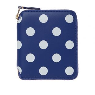 Wallet Polka Dot – Navy