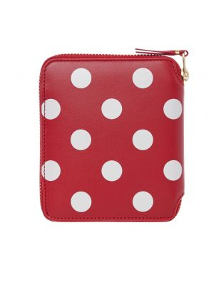 Wallet Polka Dot – Red