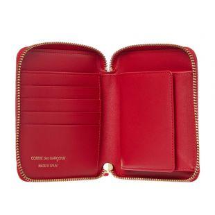 Wallet Polka Dot – Red