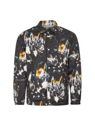 Comme des Garcons SHIRT Coach Jacket Futura Print | W28172 1 Black