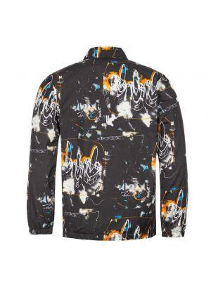 Coach Jacket Futura Print - Black