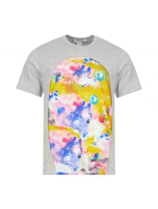 Comme des Garcons T-Shirt Futura Print | W28102 1 Grey