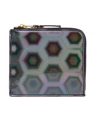 Comme des Garcons Rainbow Wallet   SA3100BR Black