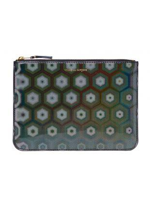 Comme des Garcons Rainbow Wallet   SA5100BR Black / Multi