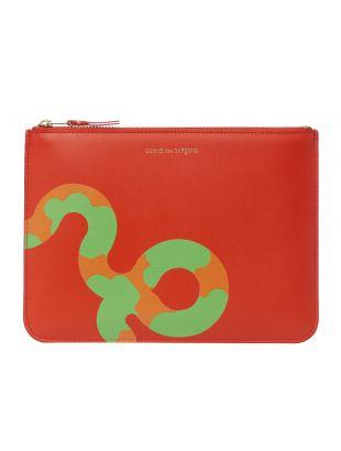 Comme des Garcons WALLET Ruby Eyes Pouch   SA5100RE Orange