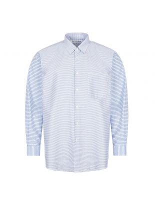 Comme Des Garçons Shirt Stripe | FO05B102 Blue | Aphrodite