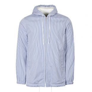 Comme des Garcons SHIRT Hoodie Striped W27177 1 Blue / Navy / White