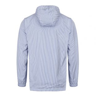 Hoodie Striped - Blue / Navy / White