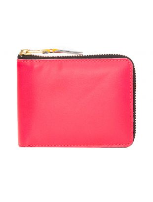 Comme des Garcons Super Fluo Coin Wallet   Pink
