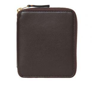 Comme des Garcons Wallet Classic | SA2100 801 Brown