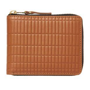 Comme des Garcons Wallet | SA7100 Beige