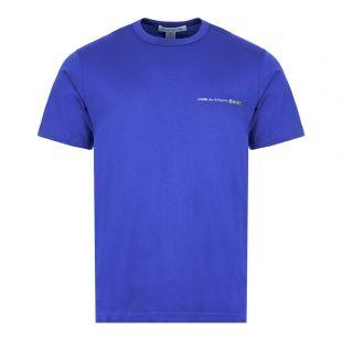 Comme Des Garcons SHIRT T-Shirt   S28121 2 Blue