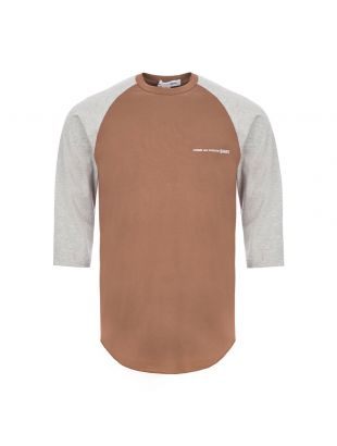 Comme Des Garcons SHIRT 3/4 Sleeve T-Shirt | S28120 1 Grey / Brown