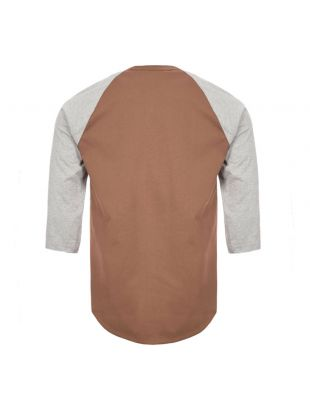 T-Shirt - Grey / Brown
