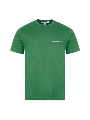 Comme Des Garcons SHIRT T-Shirt   S28121 3 Green