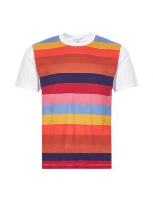 Comme Des Garcons SHIRT T-Shirt | S28103 2 Multi Stripe