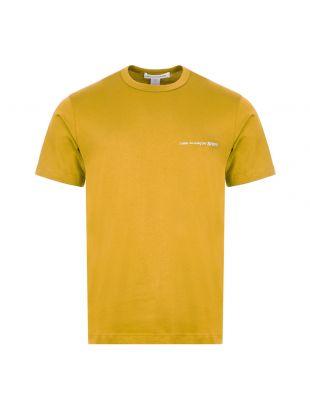 Comme Des Garcons SHIRT T-Shirt   S28121 4 Yellow