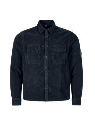 cp company corduroy shirt MSH288A 0058990 888 navy